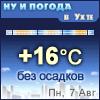Ну и погода в Ухте - Поминутный прогноз погоды